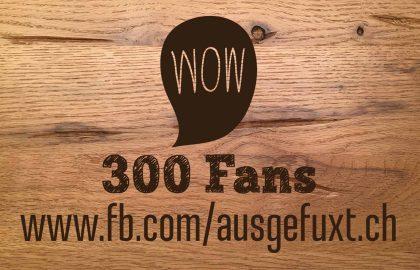 300 Fans auf Facebook