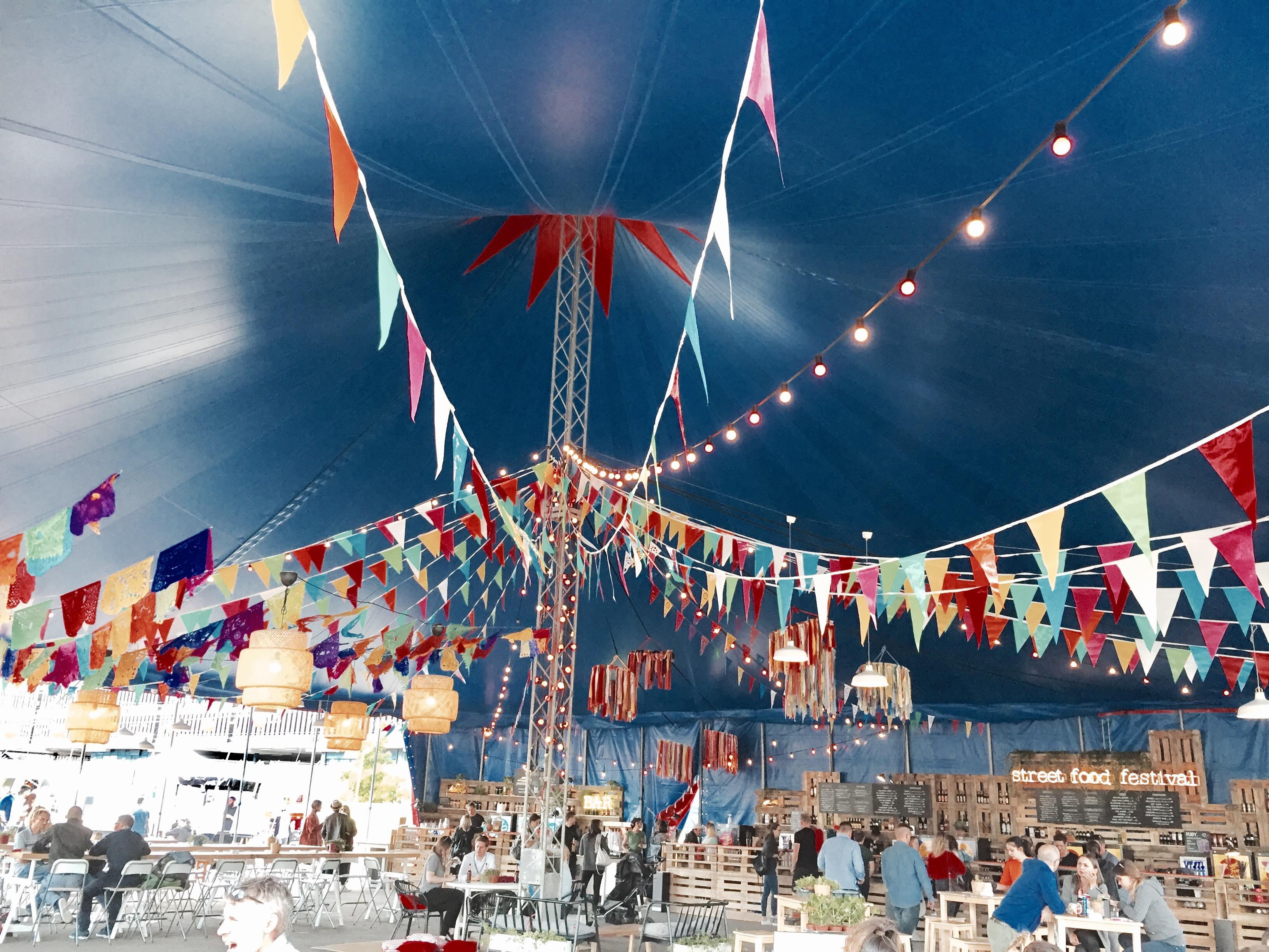 Street Food Festival Zelt