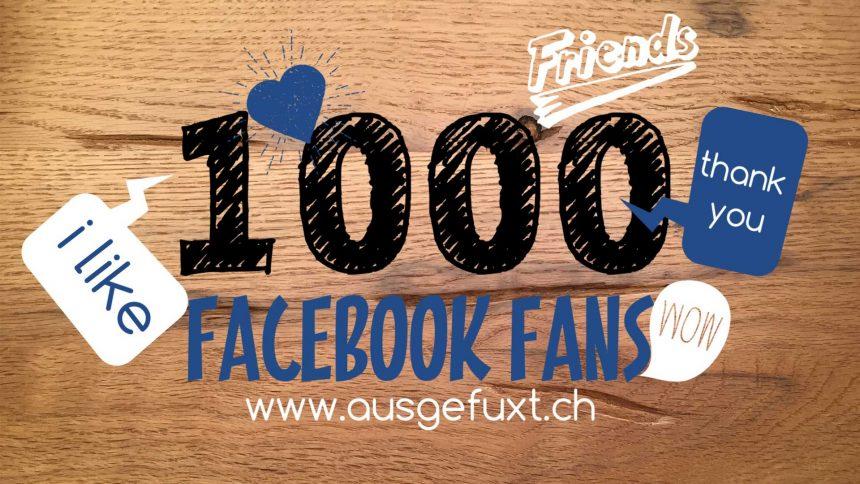 1000 facebook fans